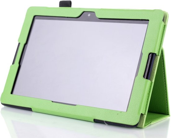 Lenovo A7-10 (A7600) Stand Case Cover Groen in Punthorst