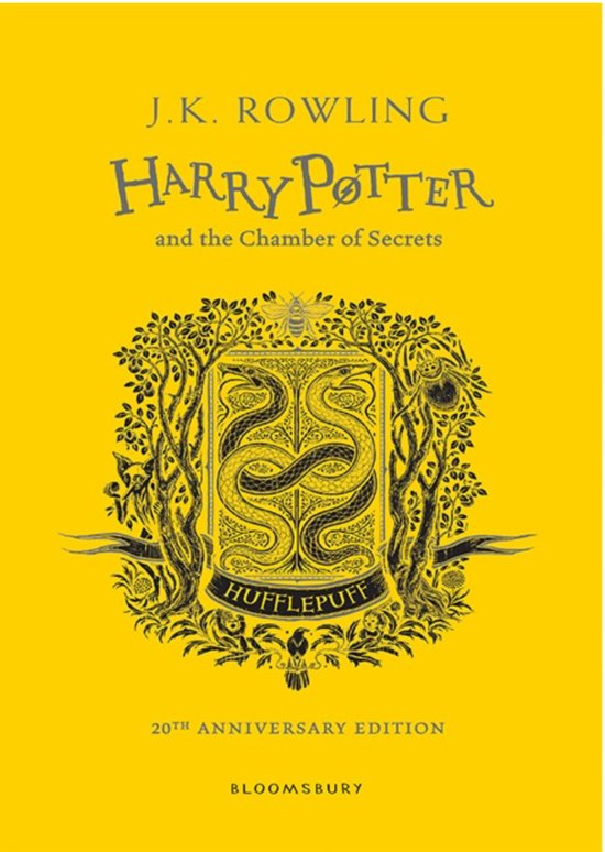 Harry potter (02): harry potter and the chamber of secrets - hufflepuff edition