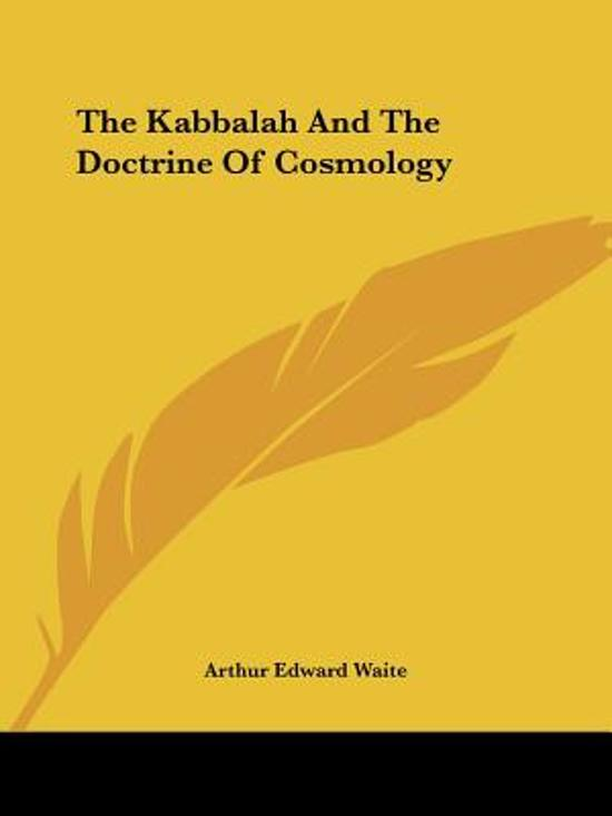 The Kabbalah and the Doctrine of Cosmology