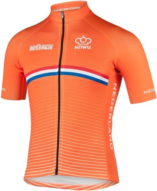 Bioracer Netherlands Bodyfit Short Jersey 2.0 Size M