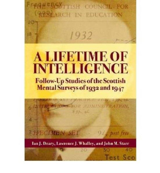 A Lifetime of Intelligence