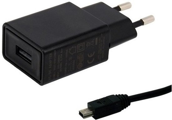 TUV getest 1.5A. oplader met USB kabel laadsnoer 1.2 Mtr. TomTom GO 930 Traffic Trucker 5000 Start 40 USB adapter stekker met oplaadkabel. Thuislader met laadkabel oplaadsnoer. in Wanlin