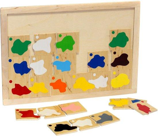 Afbeelding van het spel Puzzel 'Kleuren mengen'