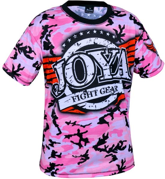 152 Camo T shirt Joya Pink g76fyYb