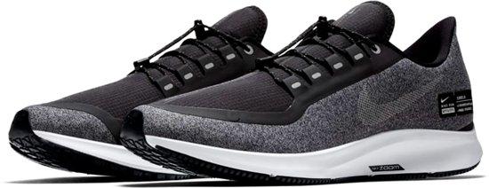 53649fd1922 Nike Air Zoom Pegasus 35 Hardloopschoenen Heren Sportschoenen - Maat 43 -  Mannen - zwart/