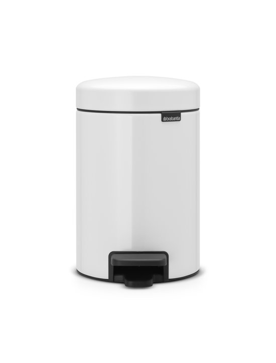 Brabantia Touch Bin 30 Liter Wit.Top Honderd Zoekterm Pedaalemmer Brabantia