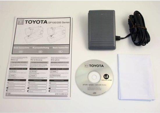 Toyota Naaimachine Wit TSEW2