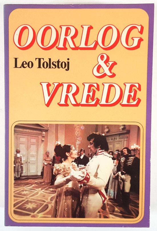 Boek cover Oorlog en vrede van Lev Tolstoj (Hardcover)