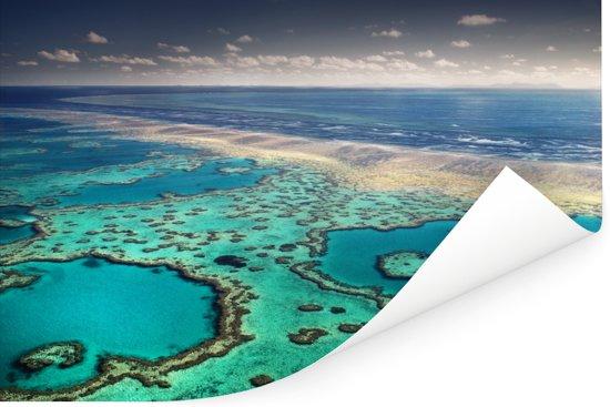 Groot Barrièrerif en de Whitsunday-eilanden Poster 30x20 cm - klein - Foto print op Poster (wanddecoratie woonkamer / slaapkamer)
