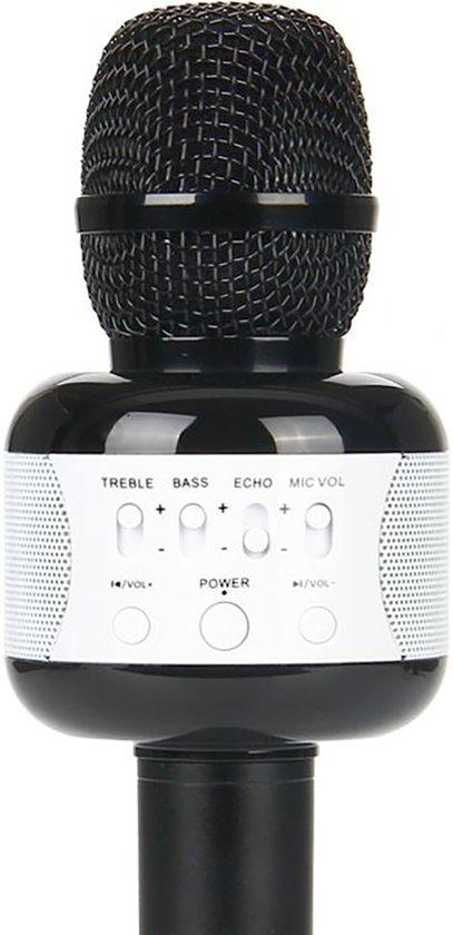 Afbeelding van Eshishang Wireless Karaoke Microfoon Draadloos Black, Zwart