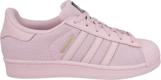 adidas superstars dames roze