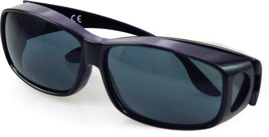 Overzetzonnebril met hoesje | Zonnebril voor brildragers - ideaal bij gevoelige ogen