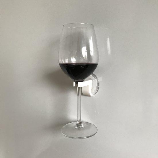 Wijnglas Houder - Wit - 1 Stuks - Wijnglashouder - EPIN 3D