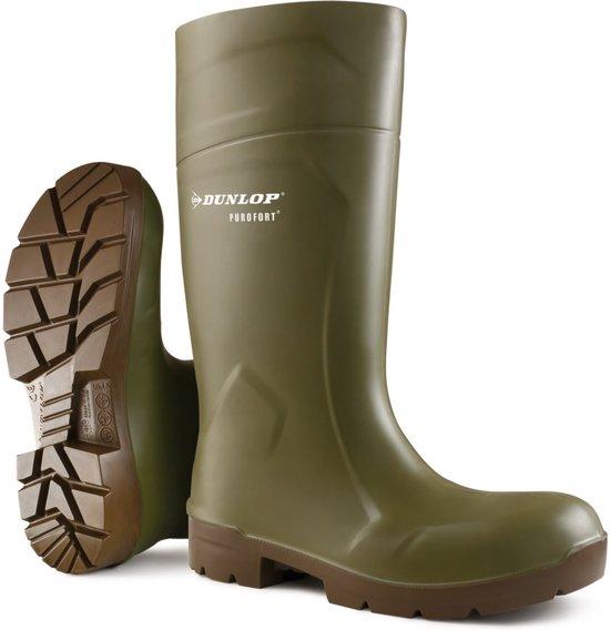 Dunlop Laarzen FoodPro Purofort MultiGrip Safety veilgheidslaars S4 groen (CA61831) maat 36