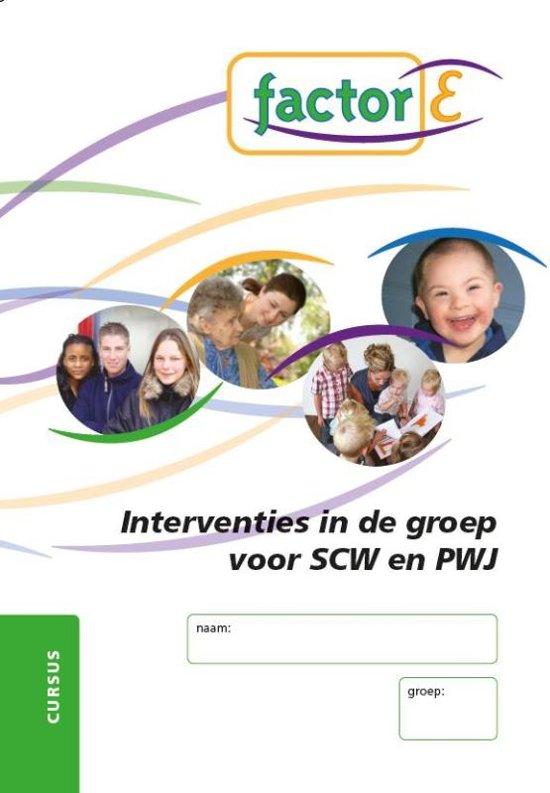 Factor-E - Interventies in de groep voor SCW en PWJ - Theo-Henk Streng  