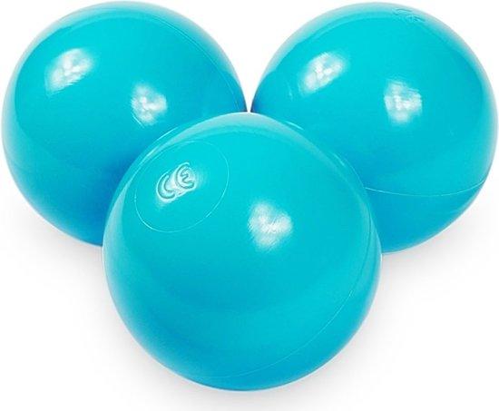 Ballenbak ballen turqoise (70mm) voor ballenbak 300 stuks