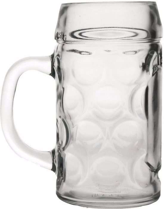 Oktoberfest Bierpullen 1 liter 6 stuks