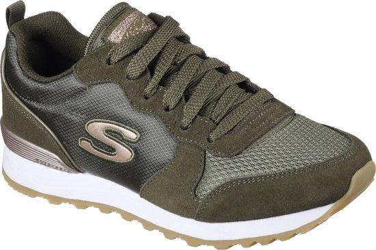 Sneakers Gurl 85 Skechers goldn Maat37 og Retros Dames Olive SwpxqXf