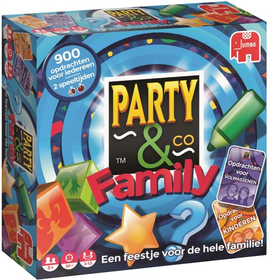 Party & Co Family nieuwe versie 2017