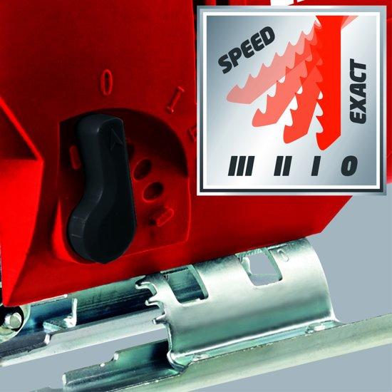 Einhell TC-JS 80 Elektrische Decoupeerzaag met pendelfunctie - 600 W - Slaghoogte: 18 mm