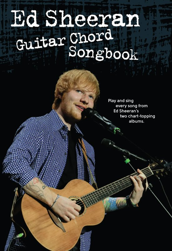 Bol Ed Sheeran Guitar Chord Songbook Ebook Wise
