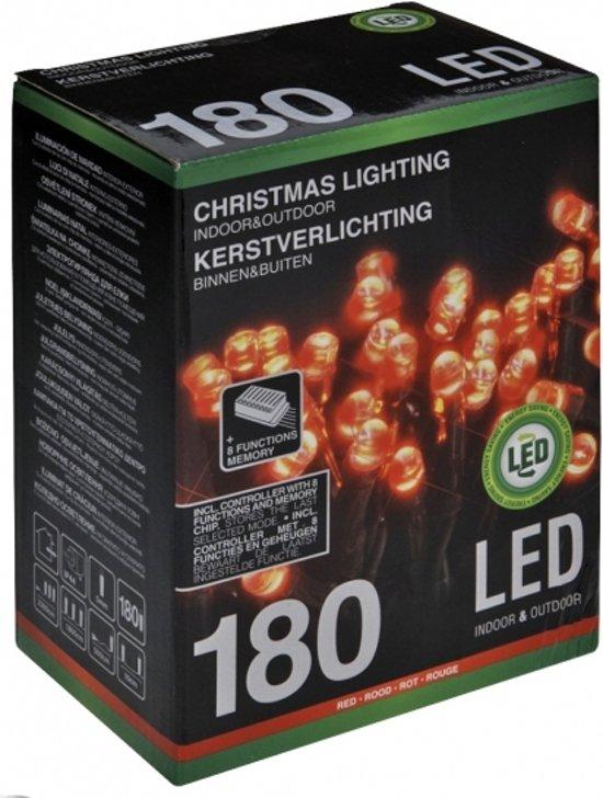 Bol Com Kerstverlichting Rood 180 Led Lampjes Kerst Lampjes