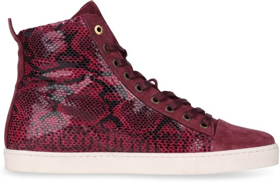Pantofola D'oro - Dames Sneakers Violetta Mid Rood