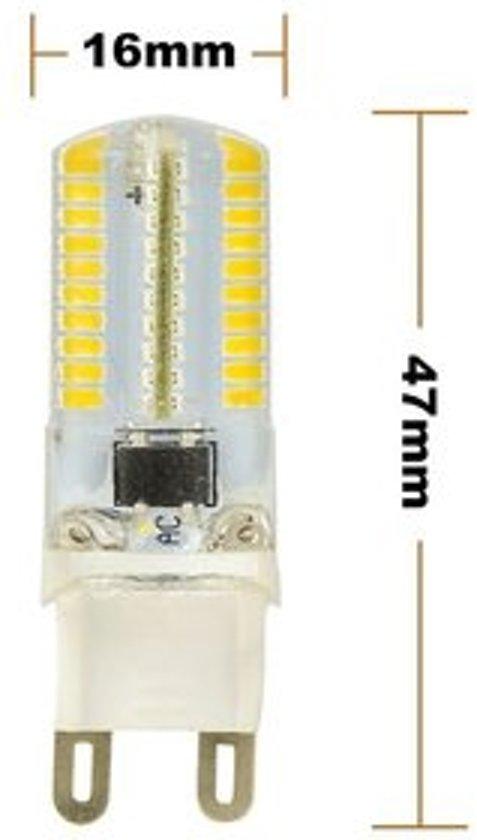ledlamp g9 220v 4w dimbaar 280 lumen 3 stuks. Black Bedroom Furniture Sets. Home Design Ideas