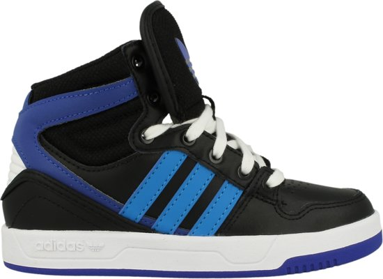 sports shoes e71e6 7767a adidas Court Attitude K B24656 ZwartBlauw maat 34