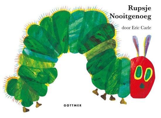 Rupsje Nooitgenoeg - Reuzen-kartonboek