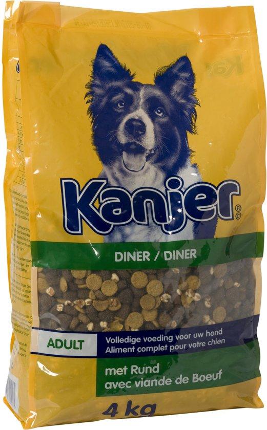 Kanjer Dinner Hondenvoer - 4 kg