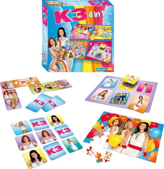 K3 Spel - 4 in 1