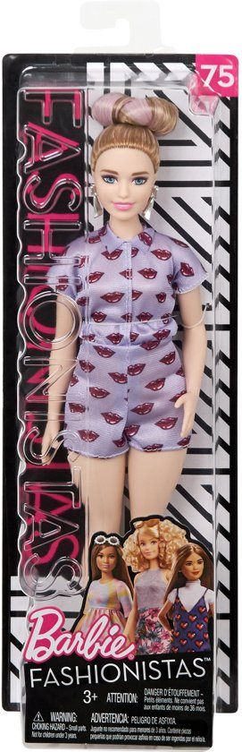 Barbie Fashionistas  Lips are Poppin - Curvy - Barbiepop