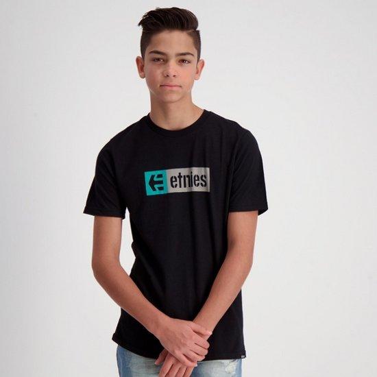 Etnies Boys New Box t-shirt black