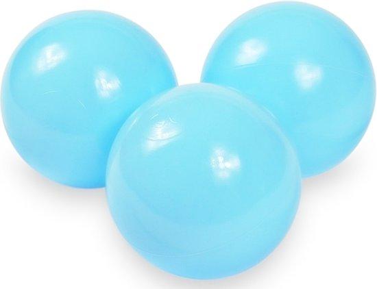 Ballenbak ballen baby blauw (70mm) voor ballenbak 100 stuks