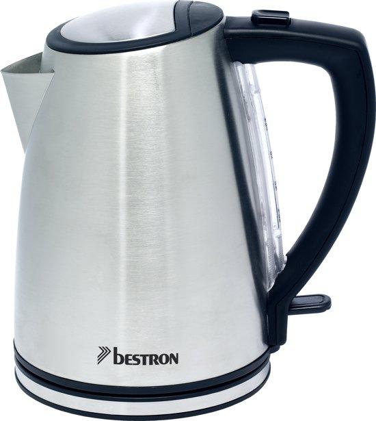 Bestron AF7200 RVS draadloze waterkoker 1,2 L