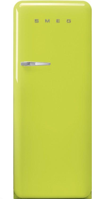 Smeg fab28rve1 koelkast groen - Koelkast groen ...