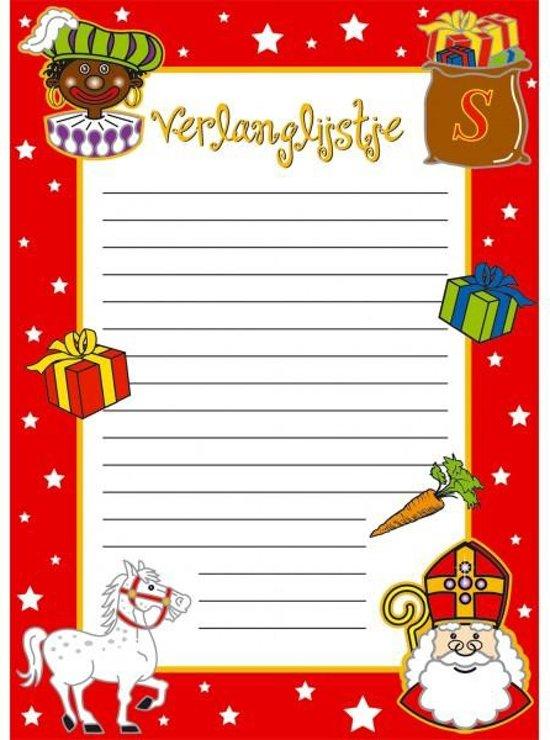 Verlanglijstje Sinterklaas