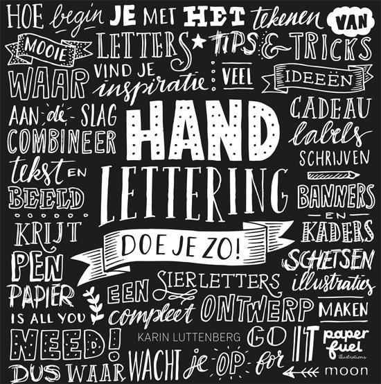 Boek cover Handlettering doe je zo! van Karin Luttenberg (Onbekend)