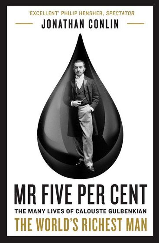 Boek cover Mr Five Per Cent van Dr Jonathan Conlin (Onbekend)