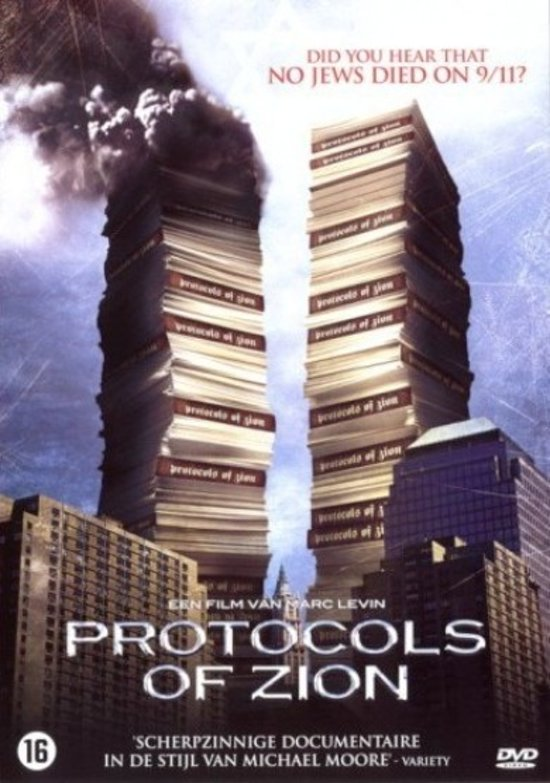 Cover van de film 'Protocols Of Zion'