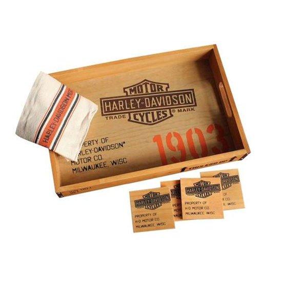 Harley-Davidson 1903 Dienblad Serveer Set