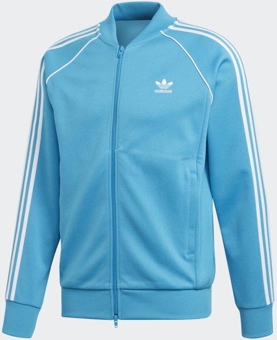 adidas Sst Tt Heren Vest - Shock Cyan - Maat M