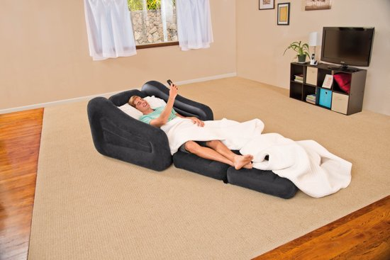 Intex Pull-Out Opblaasbare Loungestoel