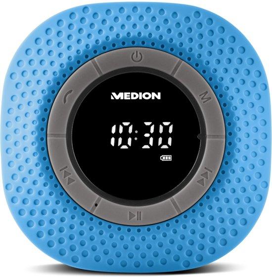 MEDION® LIFE E66554 Bluetooth Douche Radio (blauw)