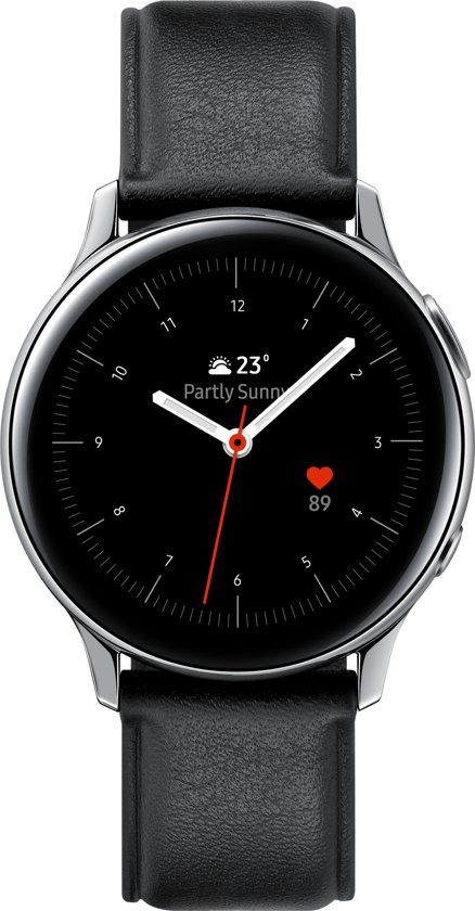 Samsung Galaxy Watch Active2 - Stainless steel - 40mm - Zilver