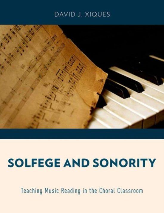 Boek cover Solfege and Sonority van David J. Xiques (Paperback)