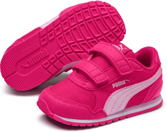 515a4d26c5d PUMA St Runner V2 Nl V Ps Sneakers Kinderen - Fuchsia Purple / Pale Pink /
