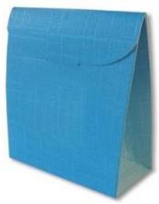 Cadeau Verpakking 70x35x80mm Blauw 25 Stuks