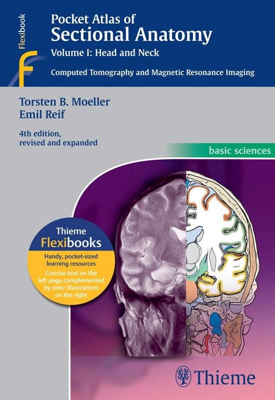 bol.com | Pocket Atlas of Sectional Anatomy, Volume I: Head and Neck ...